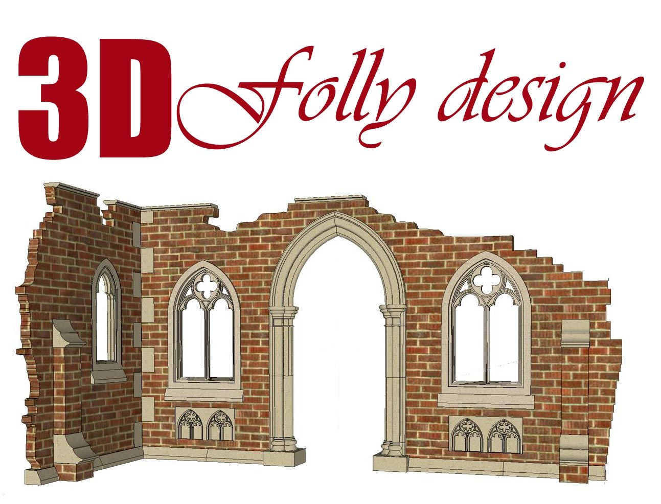 Garden folly kits